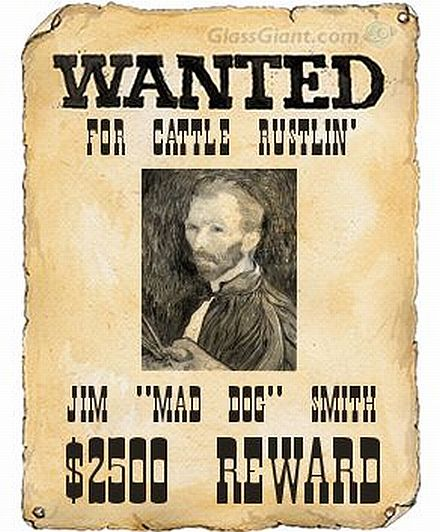 How to convert a photo into a wanted poster wanted for Free printable funny posters