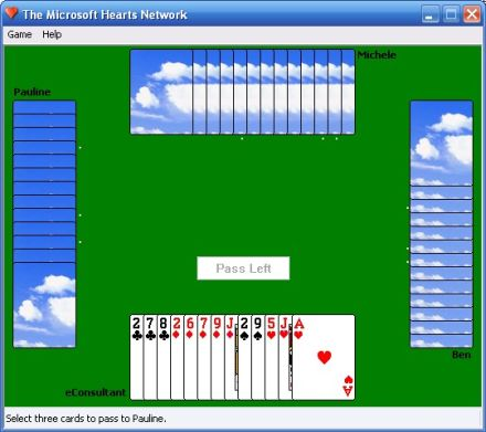 free hearts online game