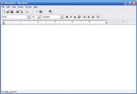 wordpad for windows xp download