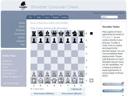 www shredderchess