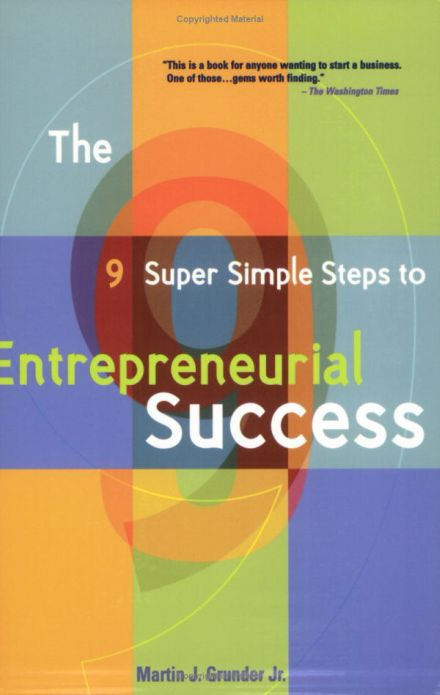 Entrepreneurial Success Checklist  Sample Ideas