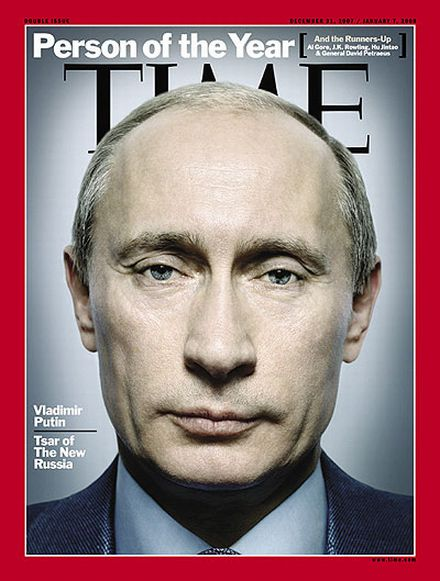 Time magazine chooses person of the year