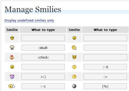 smileys on facebook. Also known as xmas smileys,