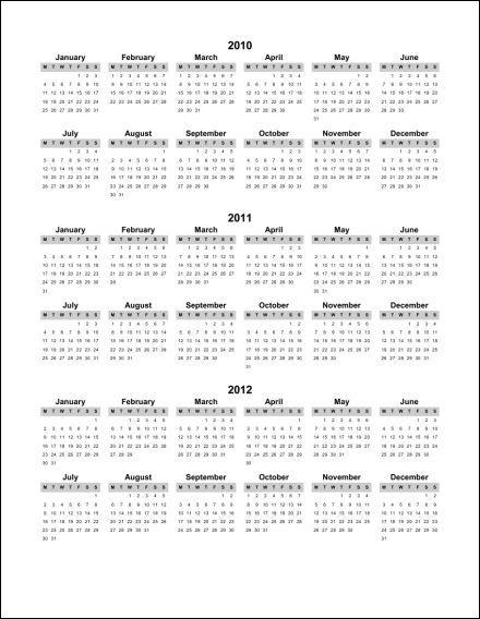 2012 2013 1 Page Multi Year Portrait 1 Starts Monday PDF 2011 2012.